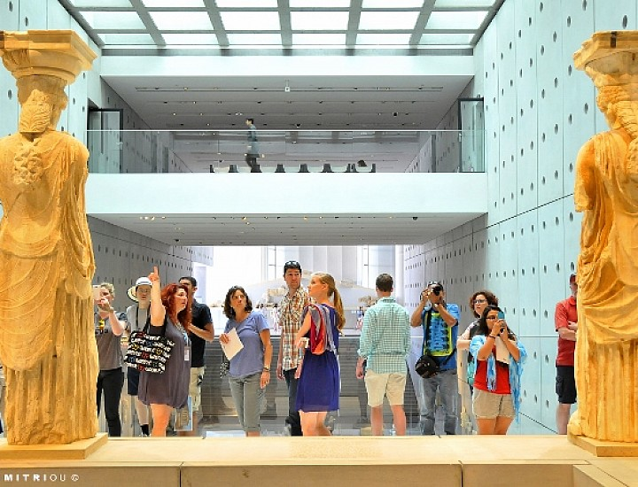 AGT26 – Acropolis Museum, Afternoon Tour