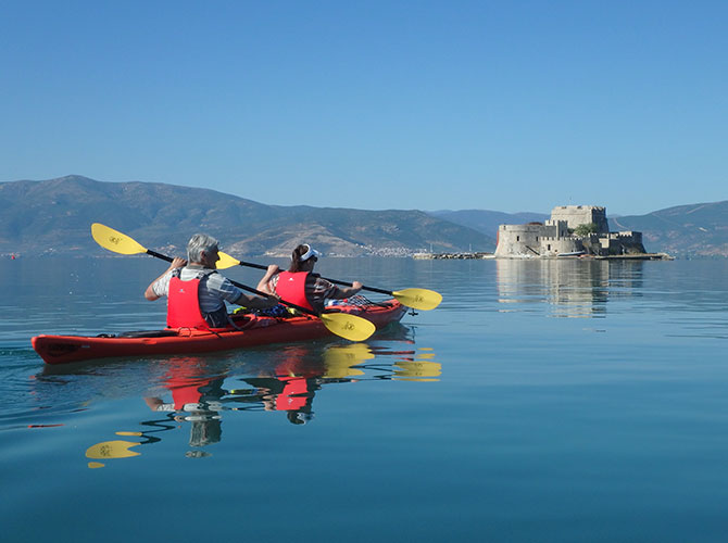 Nafplio Sea Kayak Tour