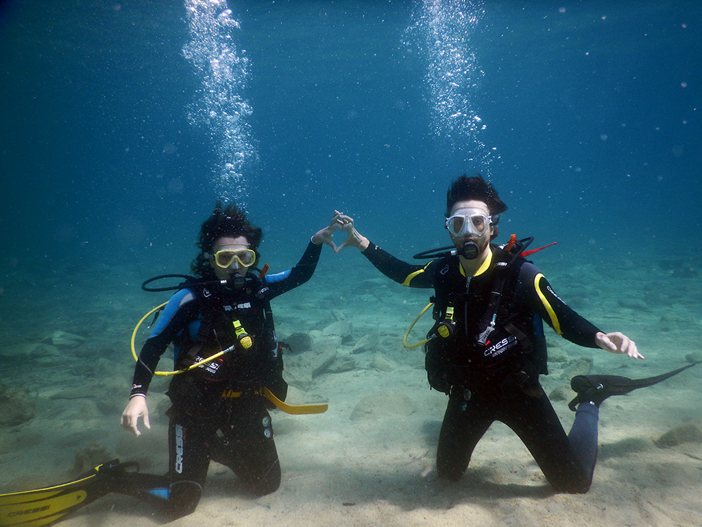 Scuba Diving Certification Course in Sithonia