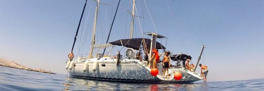 Sailing experience with Breakfast – Lunch – Dinner (Sithonia-Nikiti)
