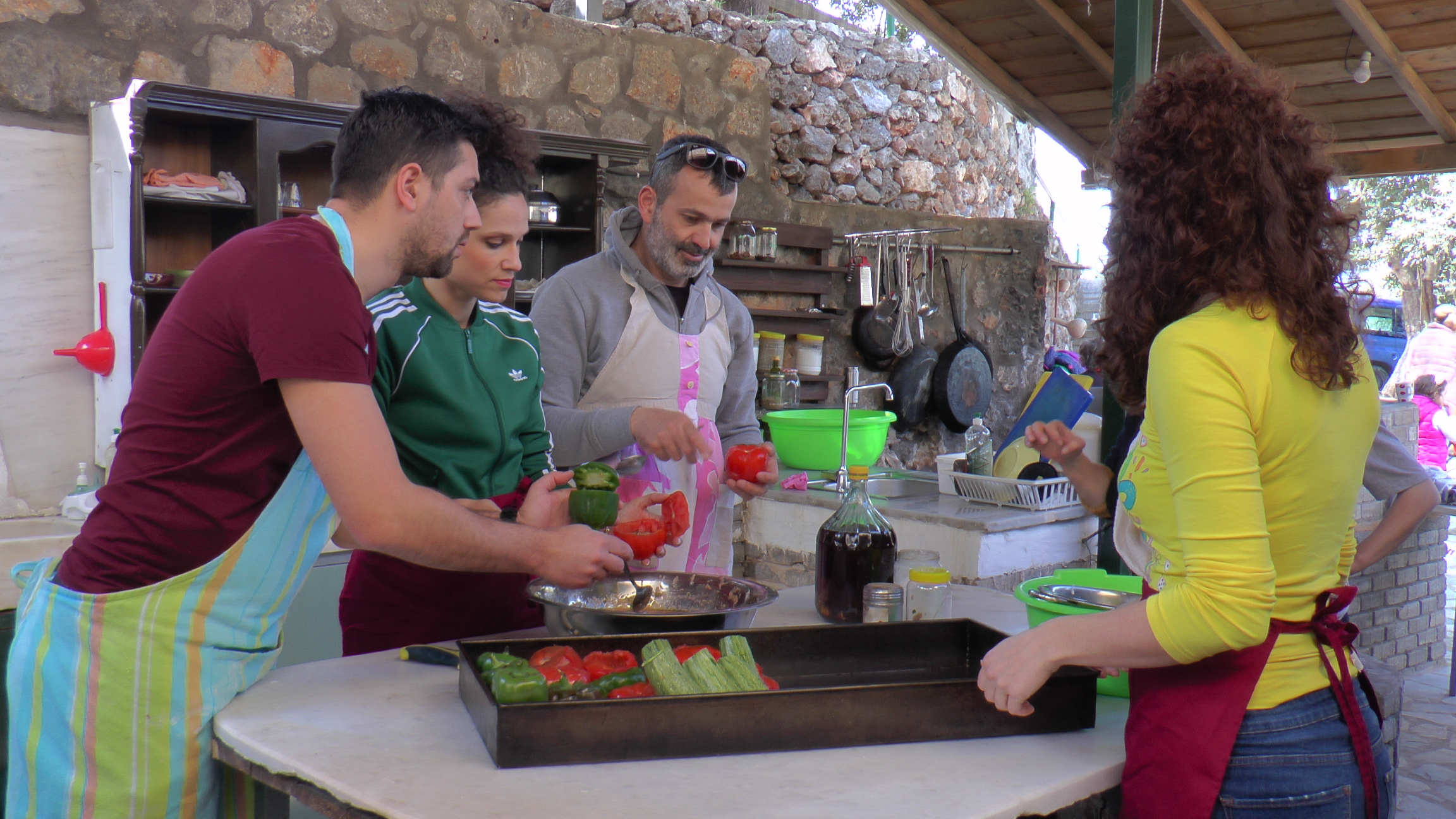 Cooking class in Messinia