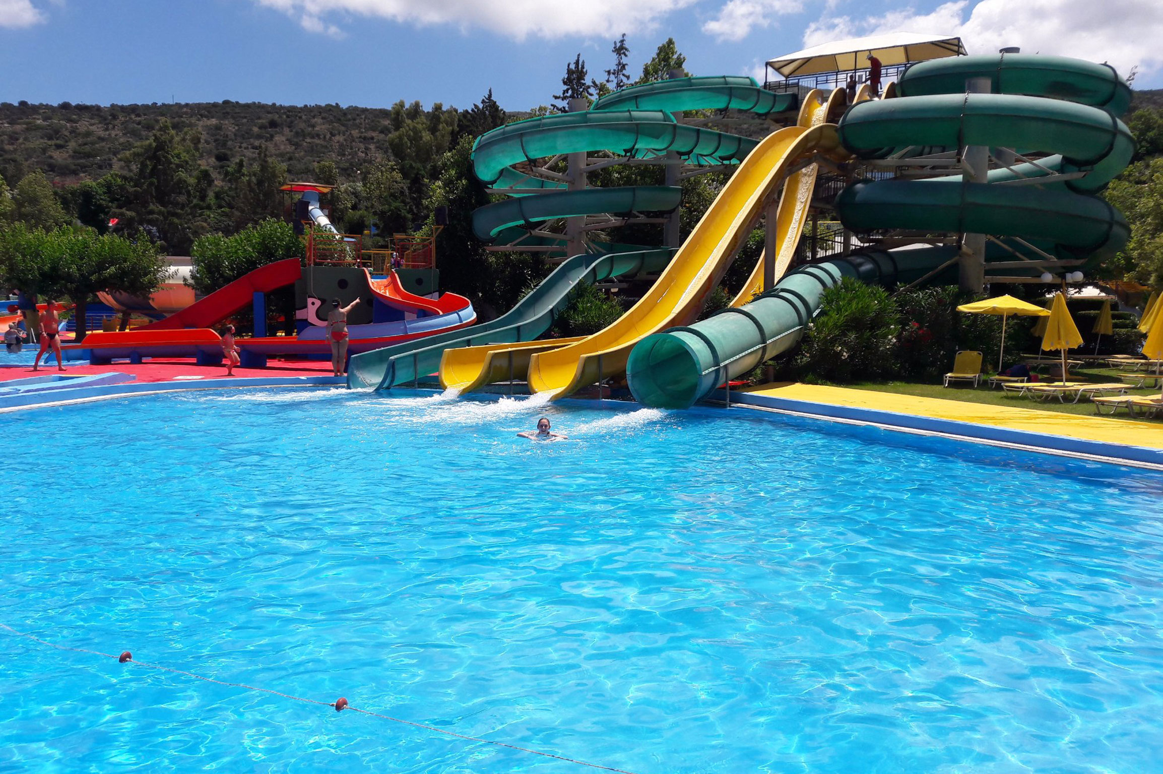 From Heraklion: Acqua Plus Water Park