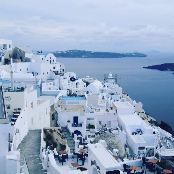 Day Trip to Santorini by Bus and Boat from Chania