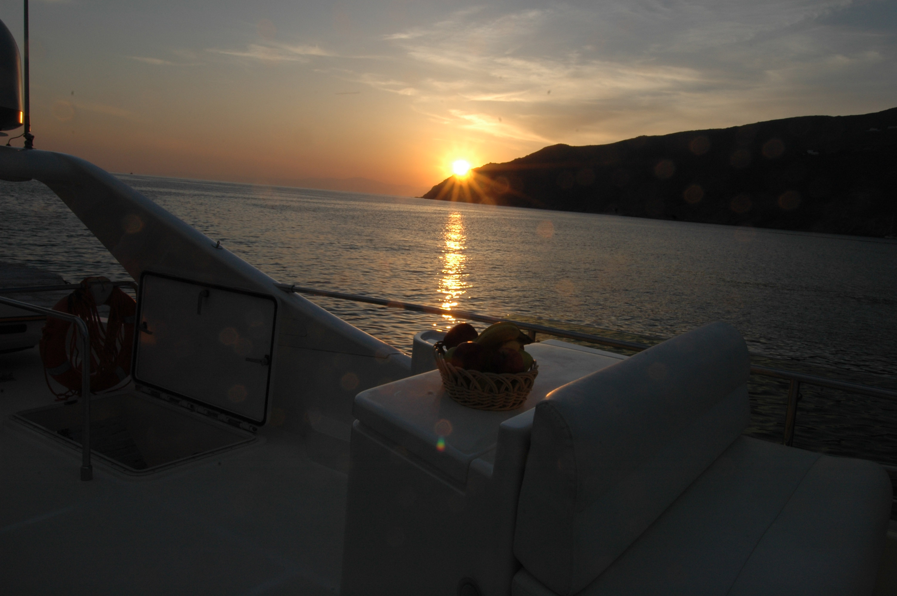 Sunset Tour with Ferretti 680