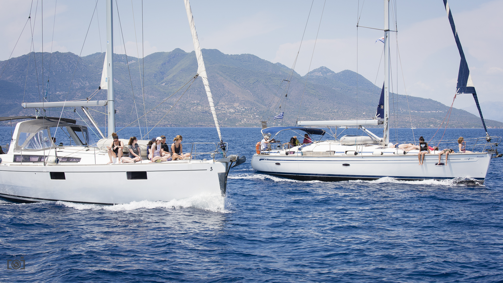 4 Cabin Sailing Yacht  Full day private cruise